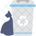 Trash Dustbin Recycle Icon