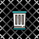 Bin Dustbin Recycle Icon