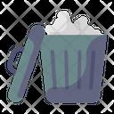 Dustbin Recycle Bin Trash Bucket Icon