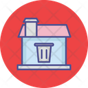Dustbin Home Cleaning Clean Icon