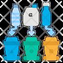 Waste Separation Plastic Icon