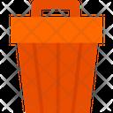 Dustbin Garbage Bin Trash Bin Icon