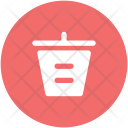 Dustbin Recycle Garbage Icon