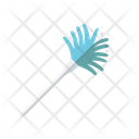 Duster Cleaning Brush Broom Icon