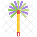 Feather Duster Broom Icon