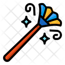 Duster Feather Clean Housework Icon
