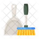 Cleaning Equipment Cleaning Tool Broomstick Icon