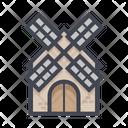Dutch Landmark Farm Icon