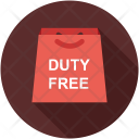 Bag Duty Free Icon