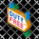 Duty Free Pointer Icon