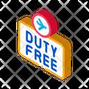 Duty Free Store Icon