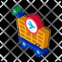 Duty Free Trolley Icon