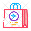 Duty Free Bag Icon