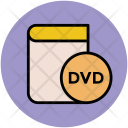 Dvd Book Education Icon