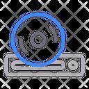 Dvd Disc Cdrom Icon