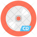 Dvd Cd Compact Disk Icon