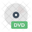 Dvd Disc Cd Icon
