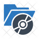 Dvd Folder Cd Folder Icon