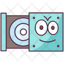 Cd Rom Disk Rom Drive Room Icon