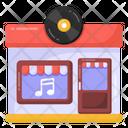 Music Shop Cd Shop Dvd Shop Icon