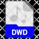 Dwd File Format Icon