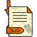 Extention Dwg Format Icon