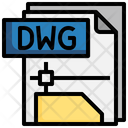 Dwg File File Folder Icon