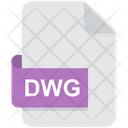 Dwg Cad File Format Icon