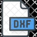 Dxf File Design Icon