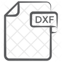 Dxf File Document File Icon