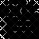 Dxf File Sheet Icon
