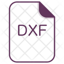 Dxf File Document Icon