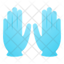 Dye Gloves Icon