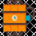 Dynamite Bomb Time Bomb Icon