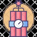 Dynamite Bomb Explosive Icon
