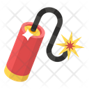 Dynamite Bomb Bomb Explosive Material Icon