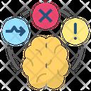 Dysfunction Abnormal Brain Icon