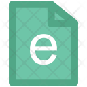 E Learning Internet Icon