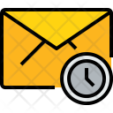 E Mail Time Icon