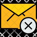 E Mail X Icon