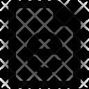 E Learning File Icon