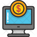 Ebanking Laptop Ecommerce Icon