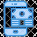 Smartphone Money Payment Icon