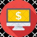 E Banking Monitor Icon