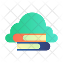 E Book Online Study Education Icon