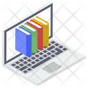E Book Digital Learning Online Education Icon
