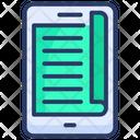 Book Digital E Icon