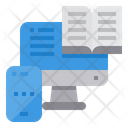 Elearning Lesson Book Icon