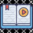 E Book Online Video Icon