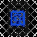 Mobile Phone Ebook Icon Icon